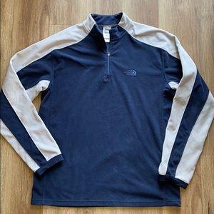 The North Face Men's TKA 100 fleece pullover M